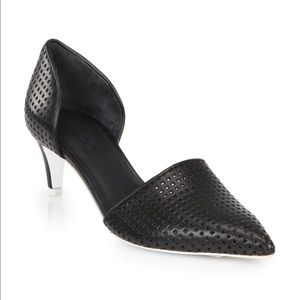 Vince Aurelian 2 d'Orsay Pumps Shoes Perforated